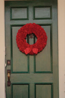 Better Homes and Garden Carnation Wreath