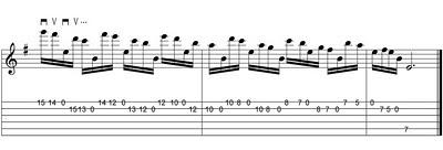 Clases de Guitarra: Cuerdas al aire y Nota pedal 2b