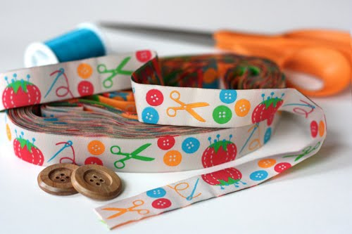 Sewing ribbon