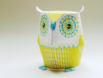 how to make an owl out of paper