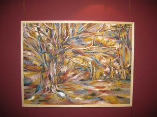 Exposición de Juan Sánchez Sotelo en Holmes Plaza MIrasierra. Academia de dibuo y pintura Artistas6 de Madrid.
