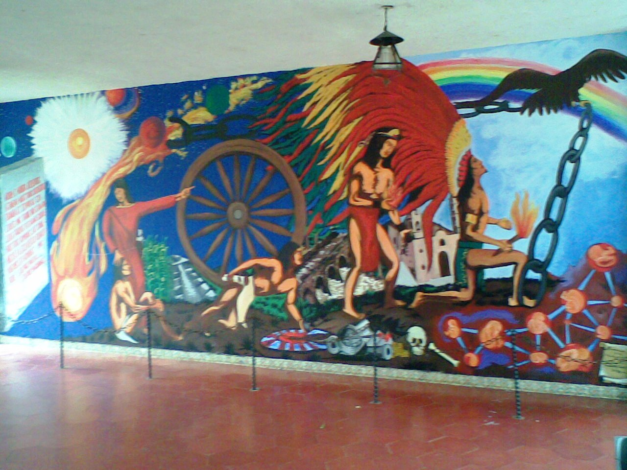 Arcadia salvaterrense murales de la preparatoria oficial for Mural de prepa 1 toluca