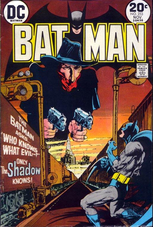 Hero Histories: Reading Room: THE BATMAN & THE SHADOW \