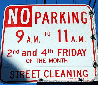 Sf Street Cleaning >> Street Cleaning Win Some Lose More Noe Valley Sf