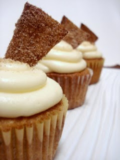 ... Sugar Cinnamon Cupcakes with White Chocolate Cream Cheese Frosting