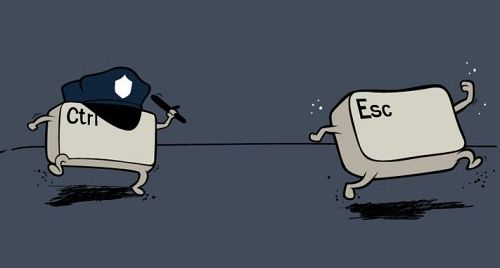 ctrl  -  Esc