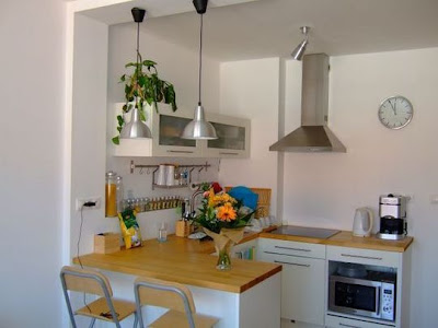 European Modern Small Kitchen Design Kitchen