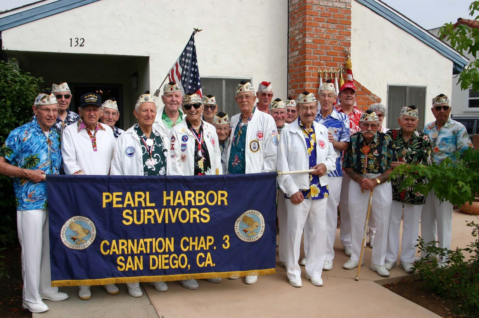 We love you survivors of pearl harbor