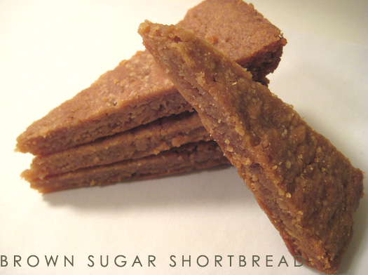Studio Surface: bake: brown sugar shortbread