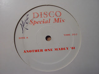 DISCO SPECIAL MIX - ANOTHER ONE MADLY '81