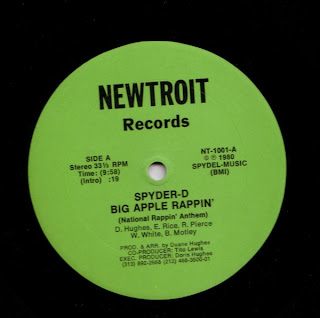 Spyder-D - Big Apple Rappin' (National Rappin' Anthem)