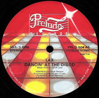 Lax - Dancin At The Disco�
