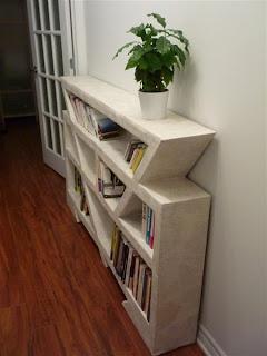 Bibliothèque-en-carton