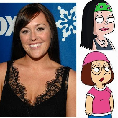 Rachael MacFarlane as Meg Griffin (Pilot Episode), Hayley Smith (American Dad)