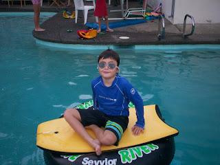 Cool Magool in the Pool