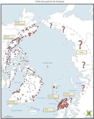 Arctique : plus de 2 500 sites pollués recensés