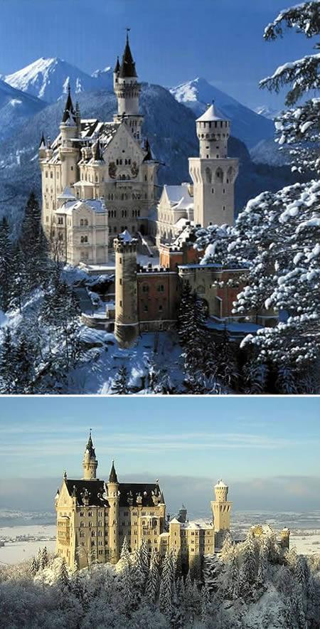 Los 10 castillos y palacios mas sorprendentes del mundo