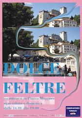 Dolce Feltre é incontrarsi in Piazza Maggiore dalle 16.00 alle 19.00