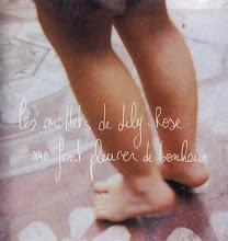 Los pies de lily-rose