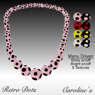 Caroline's Retro Dots Necklace
