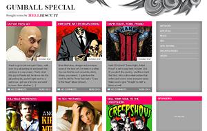 Gumball Special Premium Quality 4 Columns Blogger XML Template