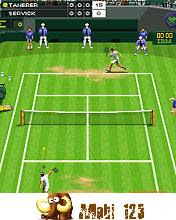 Wimbledon 2008 Mobile Java Game