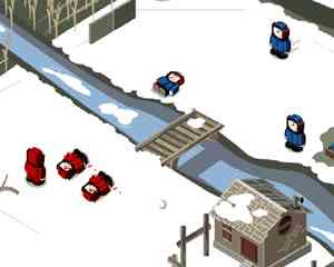 Worlds Snow Fight Head 240x320 Mobile Game