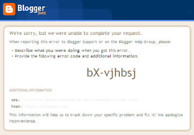 How to Fix or Remove Blogger bX Errors