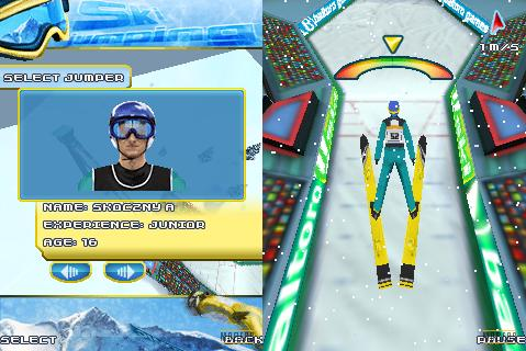 2010 Ski Jumping 3D Mobile Game