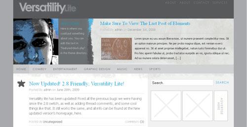 Versatility Lite Premium Quality 2 Columns Blogger XML Template
