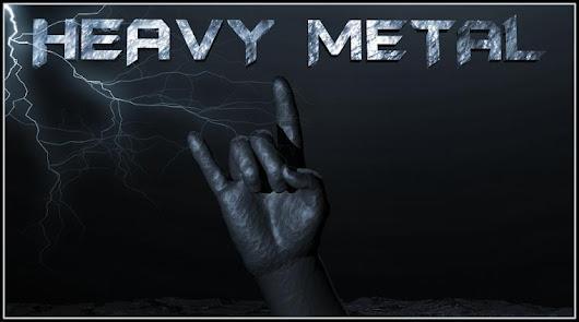 Heavy+metal 100 Band Metal Terbaik di Dunia