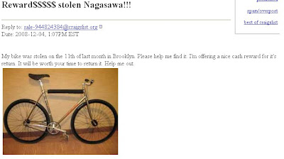 Reward Stolen Nagasawa Reply To Sale 944824384craigslist Org Date  107pm Est