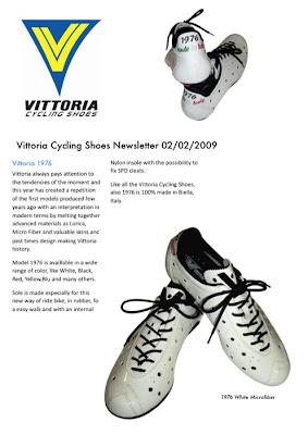 Vittoria 1976 Classic Nylon Cycling Shoe