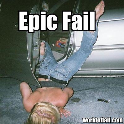 girl fail Drunk