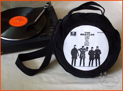 The Beatles i mój pomysł na torbę ;)