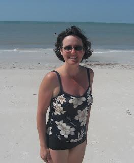 Marie at Honeymoon Island