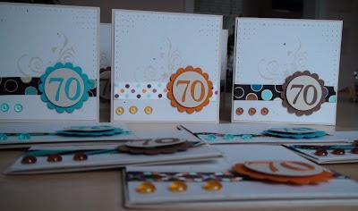 Herzens_Licht: Einladungskarten zum 70. Geburtstag