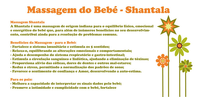 Massagem do Bebé
