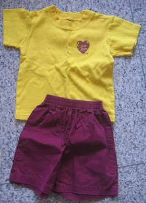 The Little Nut Tree: CHERIE HEARTS School Uniforms