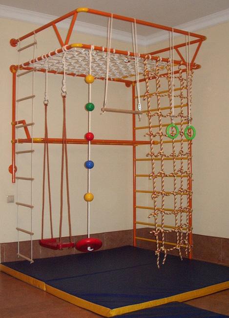Детские спортивные комплексы своими руками для дома