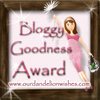Bloggy Goodness Award