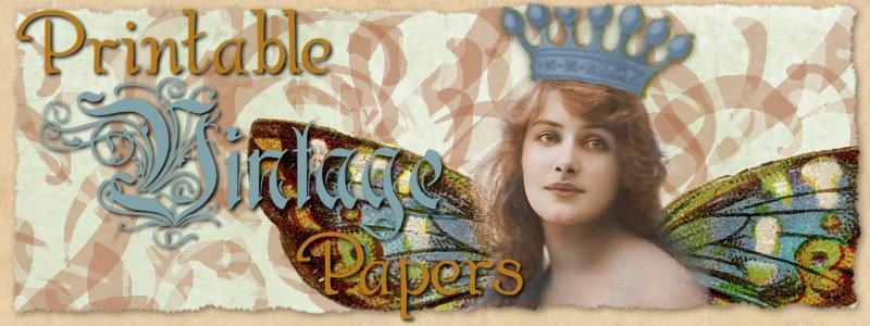 Printable Vintage Papers
