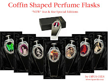 Coffin Collection Perfume flasks