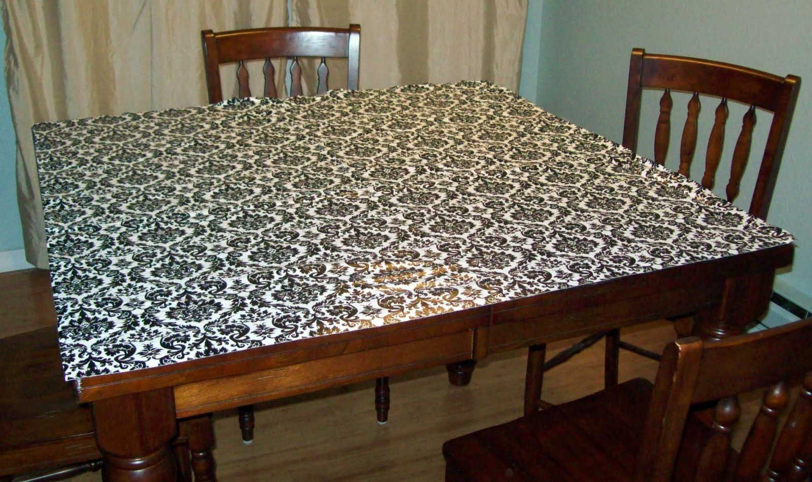 Fitted Simple Tablecloth