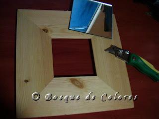 Bosque de colores ii reloj angel for Lo espejo 0450 el bosque