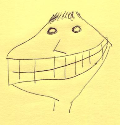 Post-it note art #9 - Marti Pellow