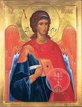 Icône Russe (Atelier de Saint Pétersbourg) du Saint Archange Michel