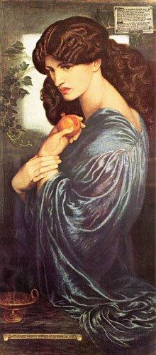 """Prosperine"" Dante Gabriel Rossetti, 1874"