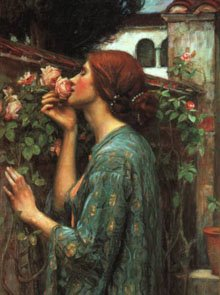 """The Soul of the Rose"" John William Waterhouse, 1908"