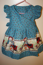Toddler Wrap Dress Tutorial